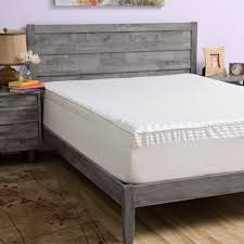 slumber mattress in a box. Slumber Solutions Big Comfort 3-inch Memory Foam Mattress Topper With Cover In A Box