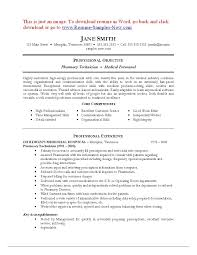 Pharmacy Assistant Sample Resume Resume Examples For Pharmacy Technician Resume Sample For Pharmacy 5