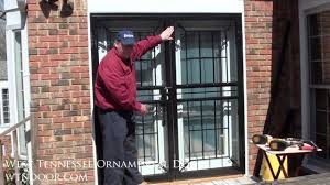 How to Install Double Security Storm Doors - YouTube