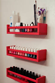 I swear, these Ikea spice racks are good for everything. I still have a