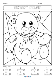 So i'm going to show you exactly how to create a free paint by numbers template from your own photo, right at home. Free Color By Number Worksheets Cool2bkids