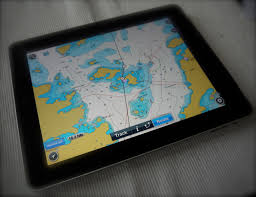 Navigation Chart Plotter Tablet As A Substitute For A Chart Plotter S Y Dolphin Dance