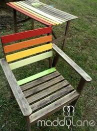 wooden outdoor furniture painted. How To: Rainbow Garden Furniture. Wooden Outdoor Furniture Painted
