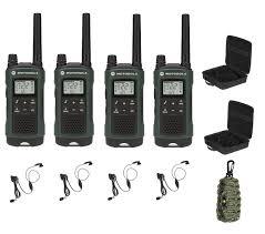 motorola talkabout. motorola talkabout t465 walkie talkie 4 pack 35 mile two way radio with free survival emergency