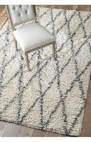 flokati diamond rug furniture
