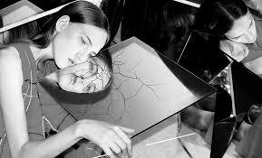 looking in mirror. Interesting Mirror Blackandwhitemirrorchallengephotobylenac With Looking In Mirror