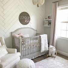 Sweet Baby Girl Nursery | Color pallets, Rustic style and Pink grey