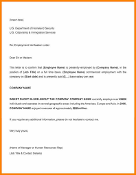 Employment Confirmation Letter From Employer Sample Employment