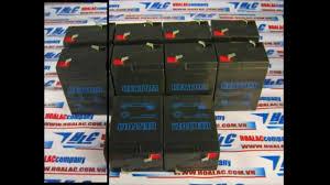 Bình sạc khô Kentom 6V-5A dùng cho đèn sạc của Kentom - YouTube