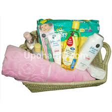 johnson new born baby pink package