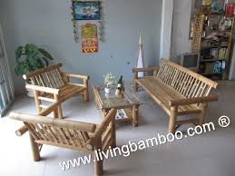 bamboo living room tiago living set bamboo company furniture