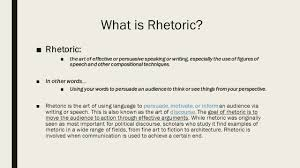rhetorical language appealing to ethos pathos logos ppt  rhetorical language appealing to ethos pathos logos 2 what