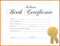 Pictures Of Blank Birth Certificates Fascinating Inspirational Birth Certificates Templates Or Free Printable Birth
