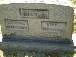 Ethel Huff Bloor (1891-1952) - Find A Grave Memorial