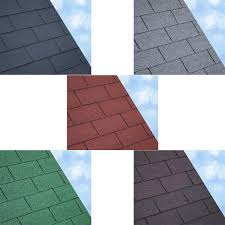 3 tab shingles red. ARS Square Butt Roof Felt Shingles 3 Metre Pack Grey / Green Brown Tab Red O