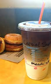 W oatmilk, 45 cal, 1.5 g total fat, 7 g net carbs, 2 g sugar. Why I Only Purchase Espresso Drinks At Dunkin Donuts
