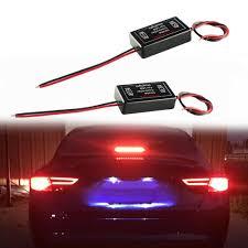 Brake Light Flasher For Car Details About Gs 100a 12v Led Brake Stop Tail Light Flash Strobe Controller Box Flasher Module