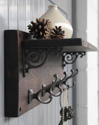 Rustic Coat Rack With Shelf Reclaimed Wood Victorian Coat Hook Shelf £1100100 This gorgeous 83