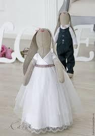 Купить или заказать <b>Свадебная парочка</b> зайцев. в интернет ...