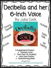 Decibella Voice Chart Pin On Back To School