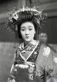 花魁oiran 太夫tayuu 遊女yujo Traditional Costume Of Japan