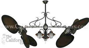 dual ceiling fan with light double ceiling fan with large wood blades and light dual head