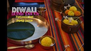 Indonesian Table Setting Diy Diwali Home Decor Diwali Dinner Table Setting Youtube