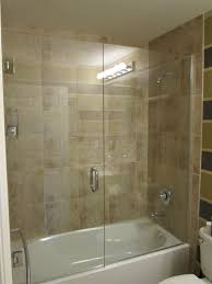 colorful how to install shower door on tub ilration bathroom