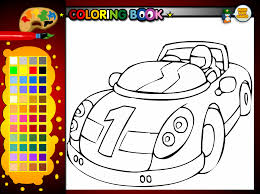 Small Picture Race Car Coloring Pages Online Coloring Coloring Pages