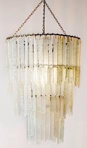 purity titania three tier chandelier lamp shade