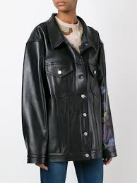 alyx oversized leather jacket black women clothing jackets jcpenney alyx dresses