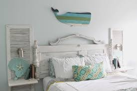 shabby chic beach furniture. for all the pieces to make bed and nightstands it cost me about 50 sconces from target were 25 a piece not bad 100 project shabby chic beach furniture