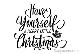 Paper, a4 or a5, s. Have Yourself A Merry Little Christmas 1759444 Png Images Pngio