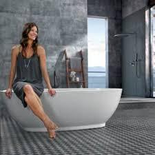 Fußbodenheizungen sorgen nicht nur für warme füße und eine angenehme raumluft. Ceramin Wasserfester Bodenbelag Furs Badezimmer Heimwerker De
