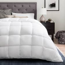 Brookside Down Alternative Reversible Quilted Comforter with ... & Brookside Down Alternative Reversible Quilted Comforter with Corner Duvet  Tabs Adamdwight.com