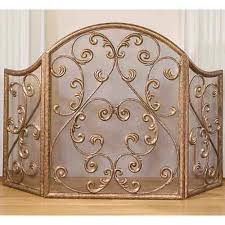 iron fireplace screens. Antique Gold Iron Fireplace Screen Old World Designs Screens Accessories Home De Family Room
