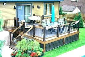 Backyard Deck Design Awesome Inspiration Design