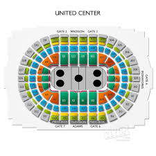 49 Matter Of Fact United Center Chicago Seating Chart