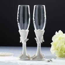 "<b>Набор свадебных бокалов</b> ""Бабочки"", фарфор, 250мл (2712300 ..."