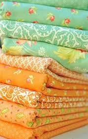 36 best Windham Fabrics images on Pinterest   Buttons, Christmas ... & Aquas and Oranges in Honeysweet by Fig Tree Quilts for Moda Fabrics Adamdwight.com