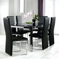 round dining table set for 4 round dining table glass top furniture black dining table glass