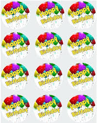60th Birthday Cupcake Toppers For Sale Party Decorations Babyplanet