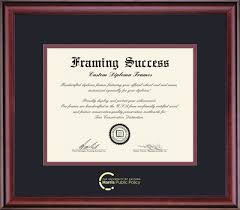 university of chicago bookstore framing success classic pub  framing success classic pub policy diploma double mat rich burnished cherry finish