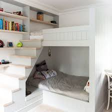 kids fitted bedroom furniture. Small Children\u0027s Room With Bunk-bed Cabin And Stairs Kids Fitted Bedroom Furniture F