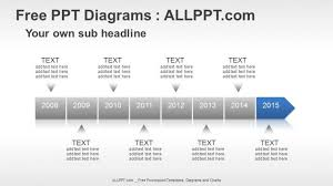 Year Timeline Template 8 Years Timeline Ppt Diagrams Download Free