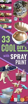 33 cool diys with spray paint projectnamehere easy spray paint decor fun do