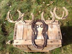Moose Coat Rack Moose Coat Rack made with Horseshoes by KokesHorseshoeDesign 1100100 48