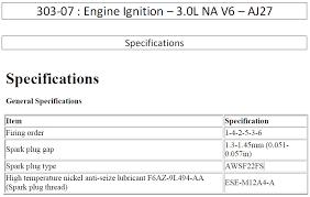 Spark Plugs For X350 3 0 V6 Jaguar Forums Jaguar