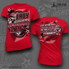 Cute Cheer T Shirt Designs Saugus Sachems Cheerleading Tshirt Design By Triune Design