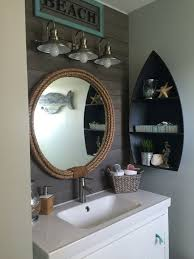 anchor bathroom decor. nautical themed bathroom cabinet decor ideas anchor d
